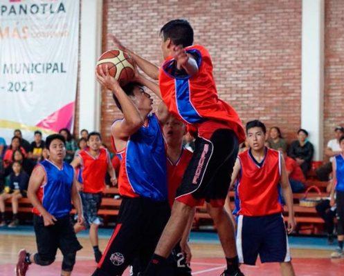 Compiten 120 basquetbolistas en primer Juego de Estrellas en Panotla