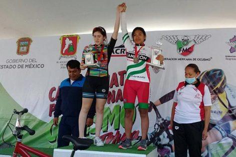Esmeralda Cuchillo, campeona en 14 años