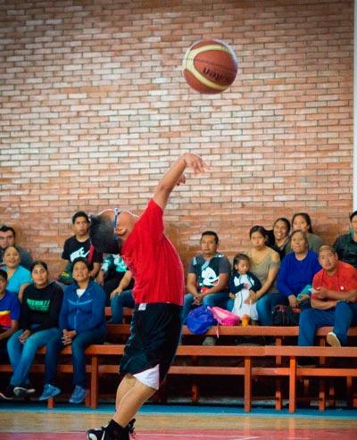 Hasta los más chicos demostraron su dominio del deporte ráfaga. /Fabiola VÁZQUEZ
