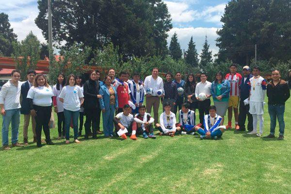 Celebran con futbol el Día  Internacional de la Juventud