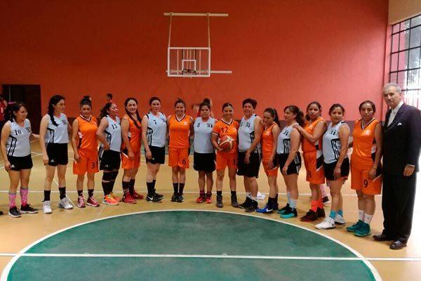 Culmina en Tetla la XV Copa Amigos de básquet