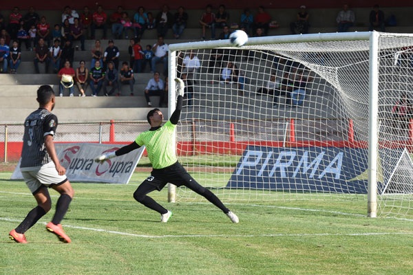 Gol de Josué Mercado hizo el 1-0. / Everardo NAVA