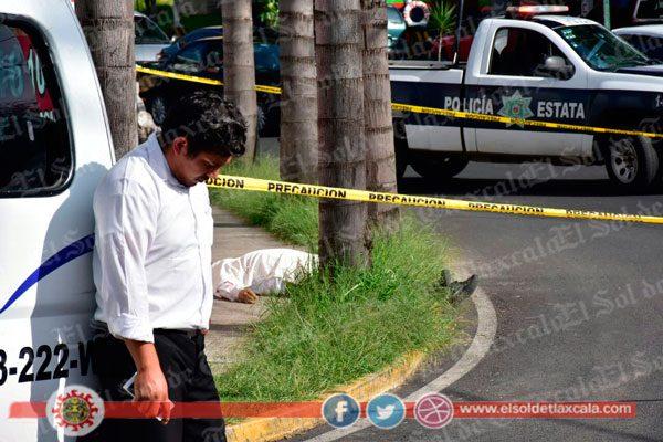 Muere chofer en asalto a camioneta de transporte de ATAH