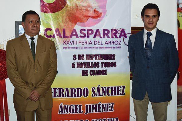 Gerardo Sánchez viajará a inicios de septiembre a España para cumplir su compromiso en Calasparra, Murcia Novillero. /Everardo NAVA