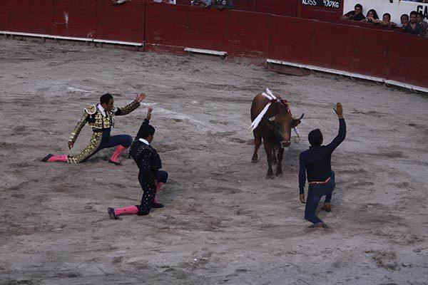 """Angelino indulta a """"Lugareño"""" en corrida en honor a Santiago"""