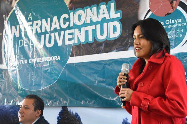 Recuerda Katia Olaya Jiménez  vivencias en el deporte en el  Día Internacional de la Juventud