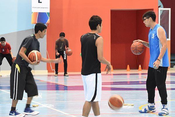 Polideportivo del IMSS, sede de liga de básquet