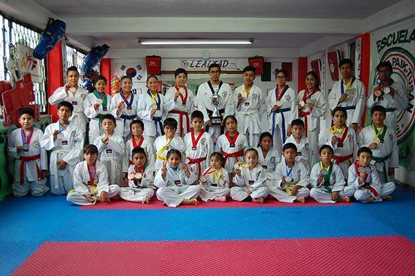 Lidera Paik Tusan medallero del nacional de taekwondo