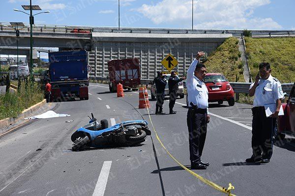 Viajar en motoneta cobra otra víctima