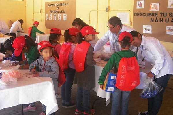 Aprenden historia de Tlaxcala infantes del curso de verano del DIF Estatal