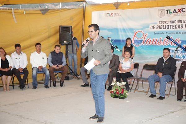 """Clausuró Camacho Higareda """"Mis Vacaciones en la Biblioteca"""""""