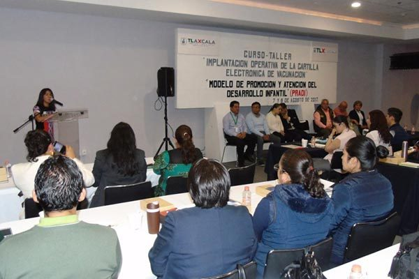Participa Tlaxcala en proyecto de Cartilla Electrónica de Vacunación