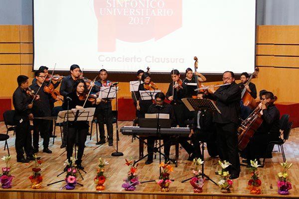Cierran con Bach la II edición del Festival Sinfónico Universitario