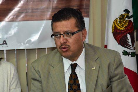 José Carlos Gutiérrez Carrillo, presidente del Centro Empresarial de Tlaxcala, aseguró que los hombres de negocios están convencidos en que deben existir acciones conjuntas para combatir los actos delictivos. / Héctor LORENZO