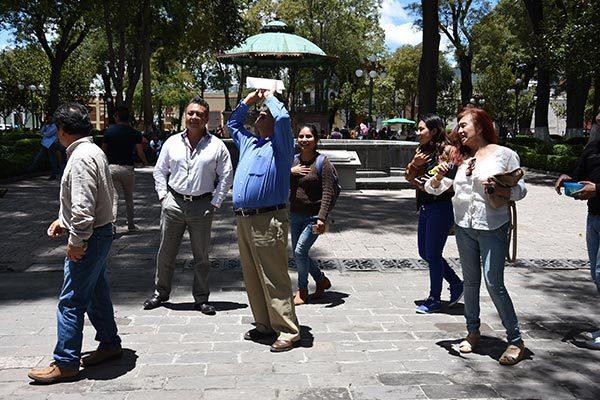 Causa expectación el eclipse solar entre los tlaxcaltecas
