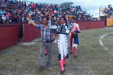 El Gaby triunfó en Atoyatempan, Puebla. / Francisco H. REYES