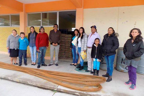 Contarán alumnos con biblioteca en la escuela primaria Álvaro Obregón en Sanctórum