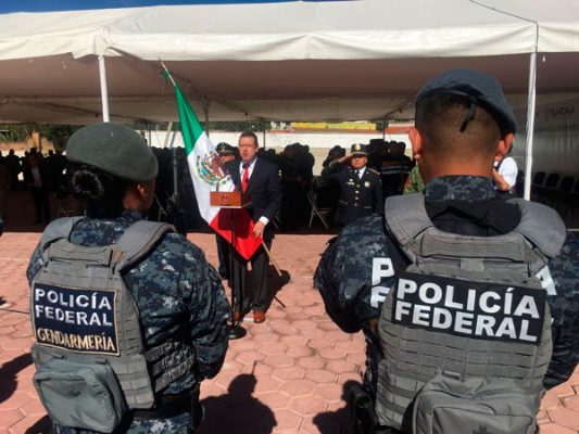 Cumple Gendarmería tres años de brindar seguridad a los tlaxcaltecas