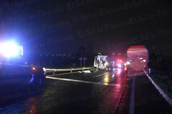 Fallece mujer tras ser atropellada en Tizatlán