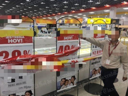 Atracan tienda recién inaugurada y sustraen más de 100 celulares
