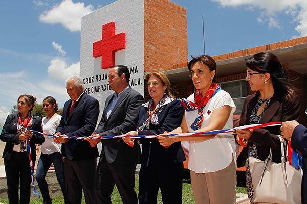 Inaugura Cruz Roja nueva base de operaciones en Cuapiaxtla