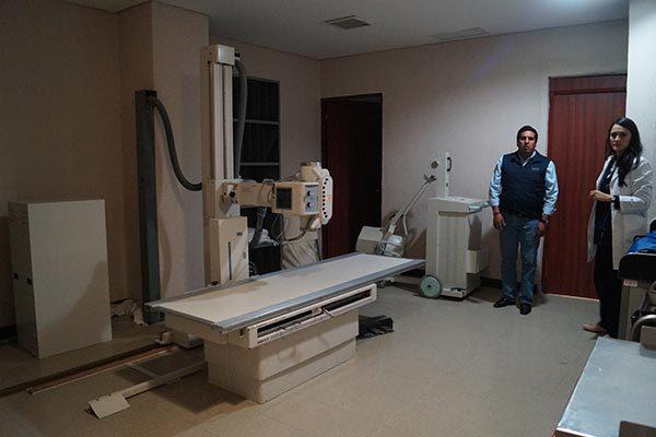 Mejoran equipo de especialidad en el hospital general de la Sesa