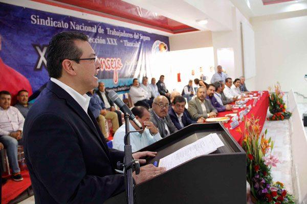 Tlaxcala se consolida en crecimiento del empleo: Marco Mena