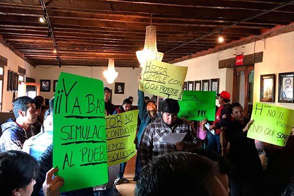 Exige Consejo Ciudadano  rendición de cuentas al alcalde de Chiautempan
