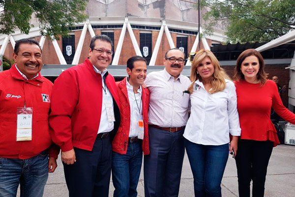 Participa Marco Mena en la  XXI Asamblea Nacional del PRI