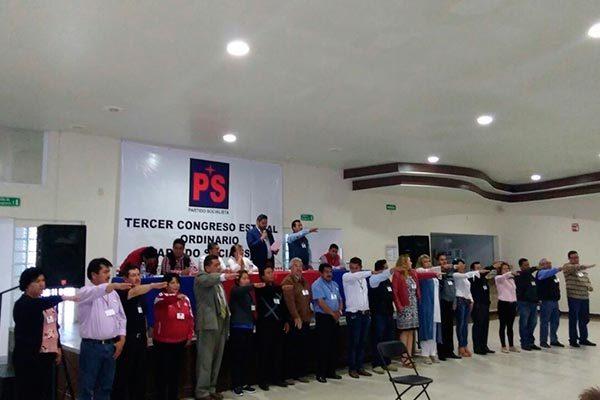 Asume Jesús Pluma Ríos dirigencia del PS