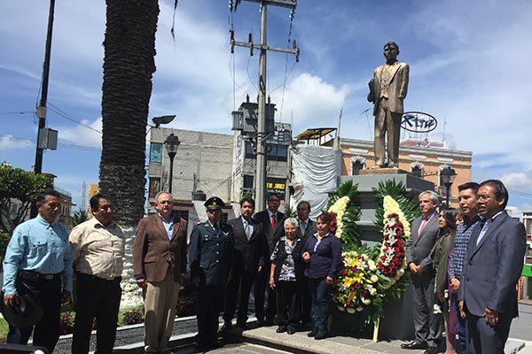 Domingo Arenas, ejemplo a seguir porque ayudó a los más desprotegidos: alcalde de Zacatelco