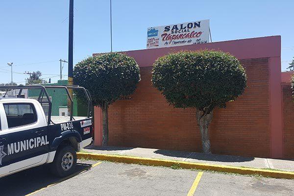 Conservarán colonos la administración de salón social en Tlapancalco en la Capital