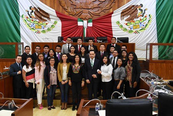 Clausuró Congreso local Sexto Parlamento Juvenil