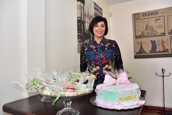 Fiesta sorpresa para Karla Ortiz
