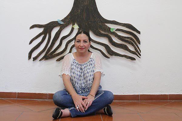 Comparte Sandra Karla López Ayala las raíces de sus pasiones