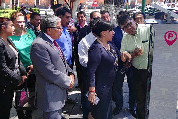 Inician operaciones nuevos parquímetros del municipio de Tlaxcala
