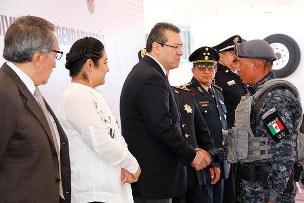 Brinda confianza la Gendarmería: Mena
