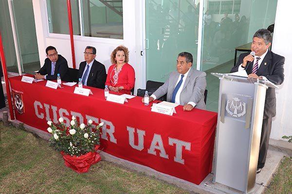 Entrega rector de la UAT infraestructura al CIISDER
