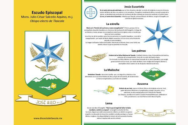 Niños Mártires y San José, algunos  símbolos que portará el nuevo Obispo