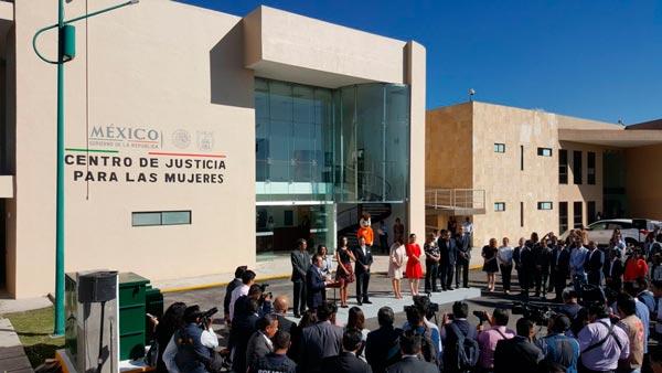 Inauguran el Centro de Justicia para las Mujeres en Tlaxcala