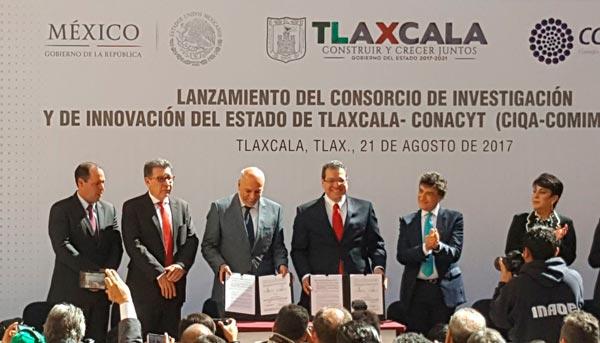 Lanzan el Consorcio de Investigación e Innovación de Tlaxcala