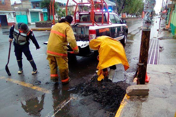 Implementa PC de Calpulalpan medidas para prevenir inundaciones