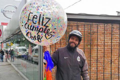 El chef Miguel Águila celebró su cumpleaños