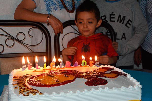 Iker cumple cinco años