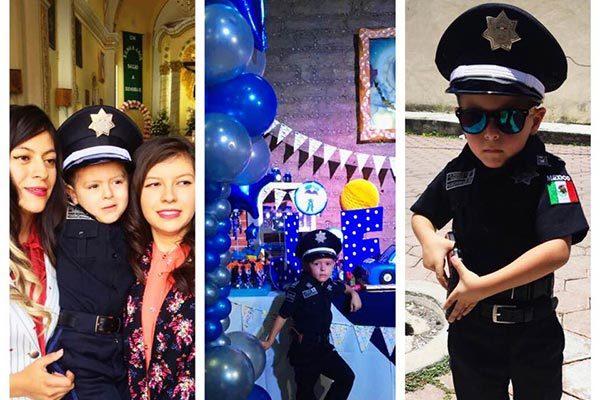 Como comandante de la Policía Federal, celebra Juan Francisco sus 4 años