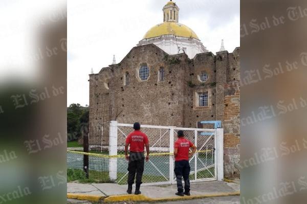 Movilizan al Ejército y Bomberos por nueva fractura en parroquia de San Francisco, en Tepeyanco
