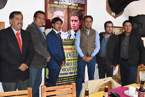 """Será un mano a mano Angelino y """"El Mojito"""" en corrida de feria  de San Andrés Ahuashuatepec"""