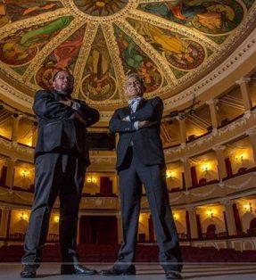 Concierto de ópera en el Teatro Xicohténcatl