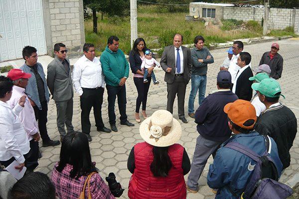 """Dan """"banderazo"""" a tres obras de electrificación en Santa Cruz Tlaxcala"""