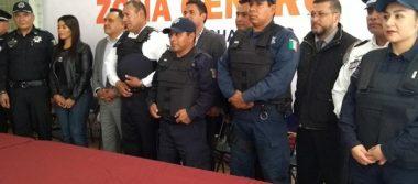 Apizaco entrega 40  equipos de seguridad  a municipios vecinos